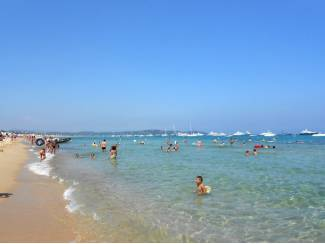 Vakantie   Zon en Strand Te huur mobilhomes in Zuid Frankrijk direct aan het strand
