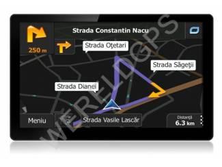 """Camper accessoires 7"""" inch breedbeeld GPS Navigatie voor CAMPER"""