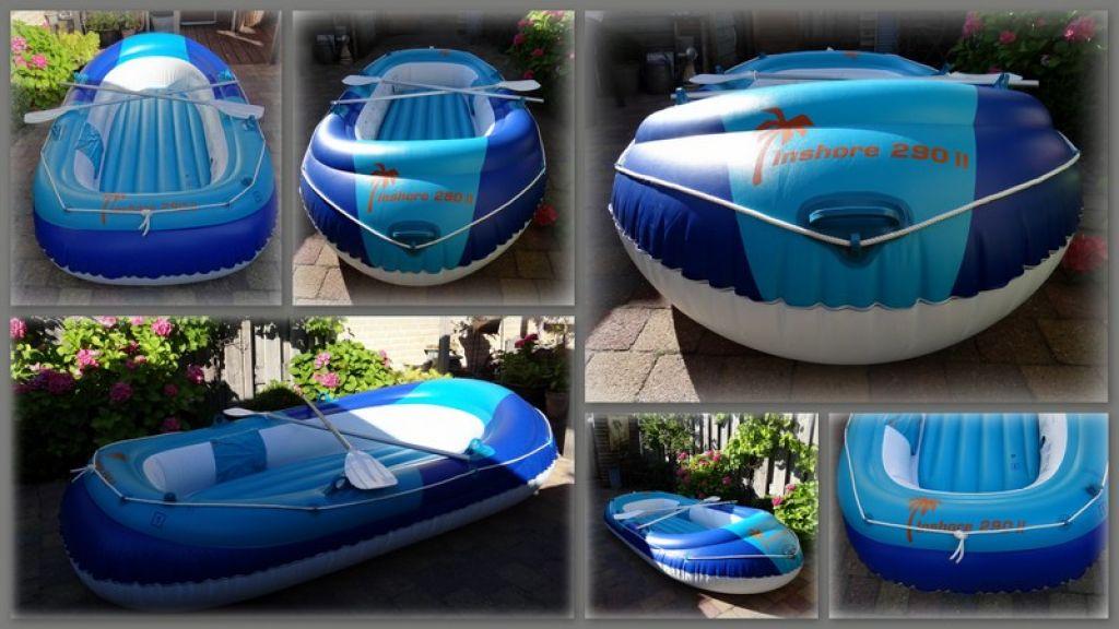 4 pers. rubberboot Inshore 290 ll Is een vakantie een paar keer g