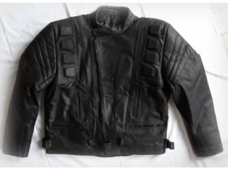 Kleding | Motorkleding Nieuwe,zwarte leren motorjas maat XL Er staat 5Xl in de jas, maar