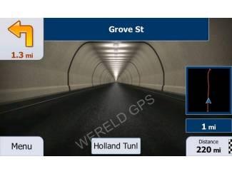 """Navigatiesystemen 7"""" inch breedbeeld GPS Navigatie voor VRACHTWAGEN"""