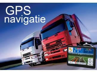 """7"""" inch breedbeeld GPS Navigatie voor VRACHTWAGEN"""