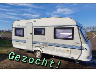 Caravans | Overige Merken Gezocht Caravans van 3.50 mtr. t/m 5.00 mtr.