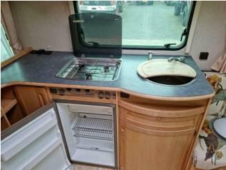 Caravans   Adria Adria Unica B 502 UP 1999 Vast Bed Voortent  Aanbieding